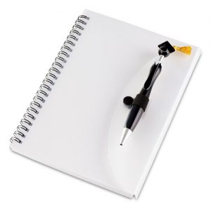 bedfordview-SWANKY GRADUATION A5 NOTEBOOK AND PEN