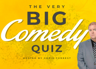Sugar's Bakery Hosting Very Big Comedy Quiz with Chris Forrest