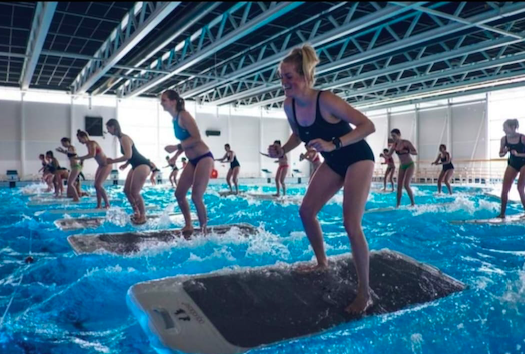Get Fit On A Float