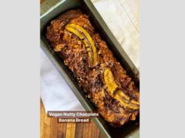 Make Lemoni's Vegan Nutty Chocolate Banana Bread