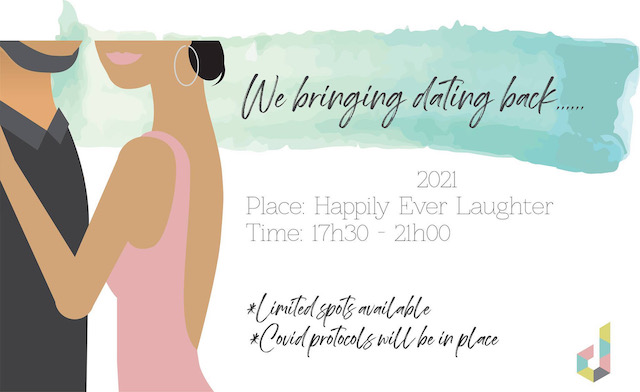Singles Dating Event Taking Place At Happily Ever Laughter In Bedfordview