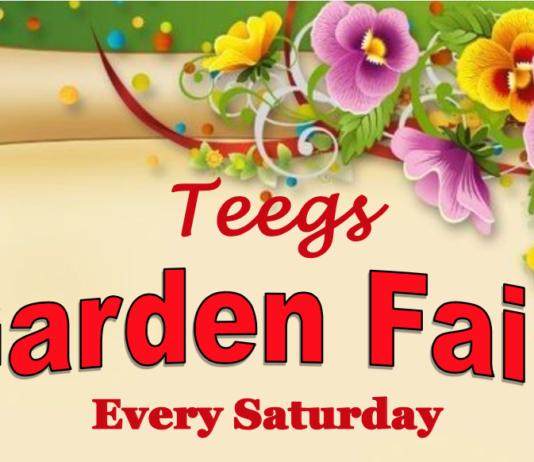 Teegs Hosting Saturday Garden Fair