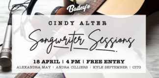 Bailey's Live Hosting Cindy Alter Songwriter Sessions