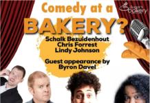 Sugar's Bakery Hosting Comedy Night