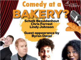 Sugar's Bakery Hosting Comedy Night