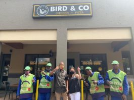 Bird & Co Bedfordview Provides Lunches For Better Bedfordview Clean-Up Crew