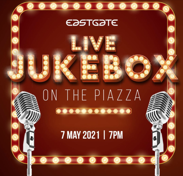 Experience The Live Jukebox At Eastgate's Piazza