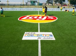 Lay's Creates Sustainable Football Pitches With Empty Chip Packs To Uplift Communities
