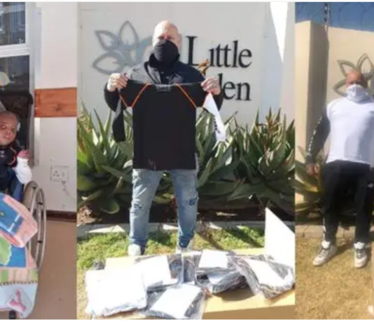 Covid-19 Protective Shirts Donated To Little Eden